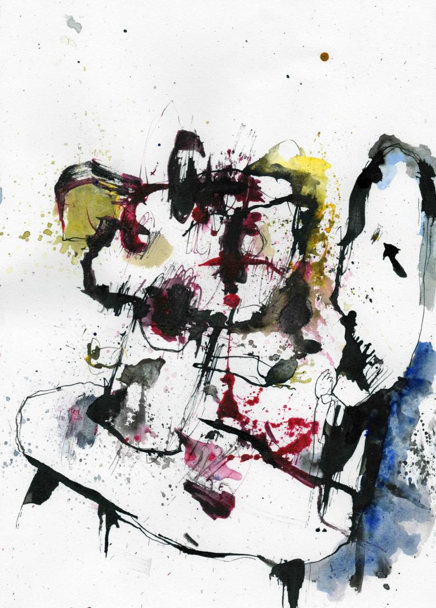 Onoverbrugbare verschillen, ink on paper, 21 x 29,7 cm, 2020